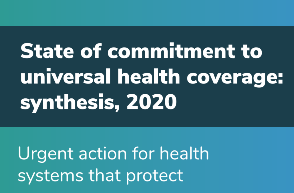 Launched: The State of UHC Commitment Synthesis 2020
